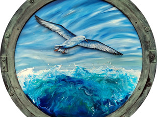 Johnathon Livingston Seagull Porthole