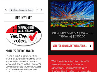 www.chchartshow.co.nz opens online 10am this Friday 19th June - pls vote :-)