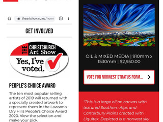 www.chchartshow.co.nz opens online 10am this Friday 19th June - pls vote :-)