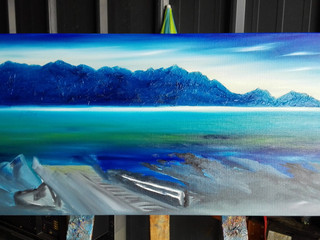 Kaikoura Commission Oil layer #1