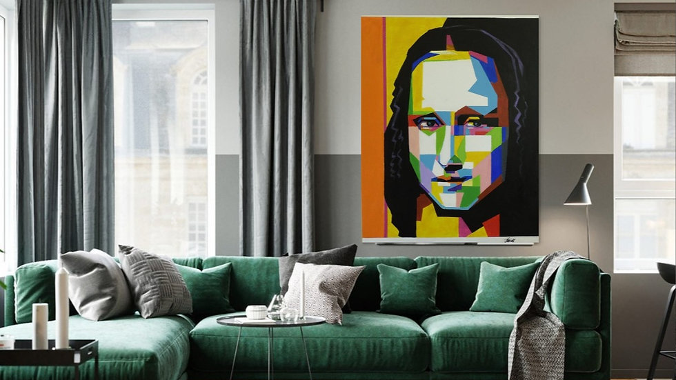 Pop Art Mona Lisa 70% Discount