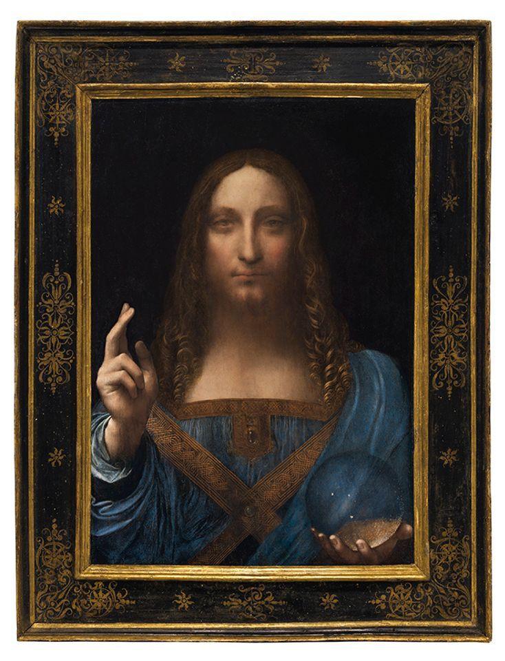 Leonardo da Vinci's Salvator Mundi (circa 1500)
