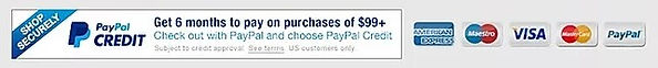 PayPal Credit Banner