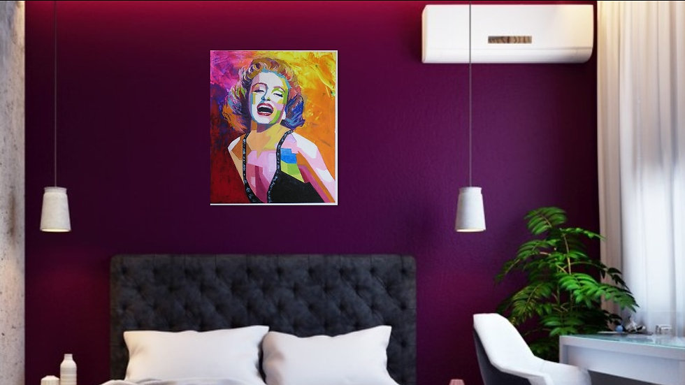 Marilyn Monroe Pop Art 50% Reduced