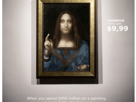 $450. million for a painting