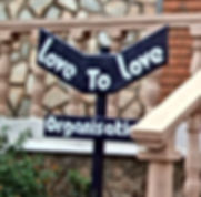 Love to love Sign post and youths
