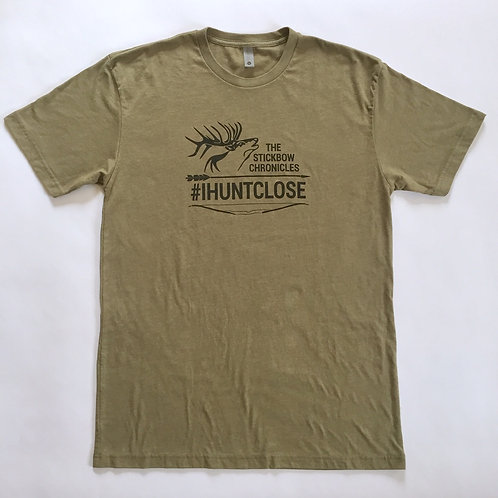 #IHUNTCLOSE printed t-shirt