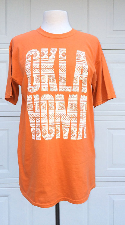 Oklahoma Gameday Tee in Burnt Orange