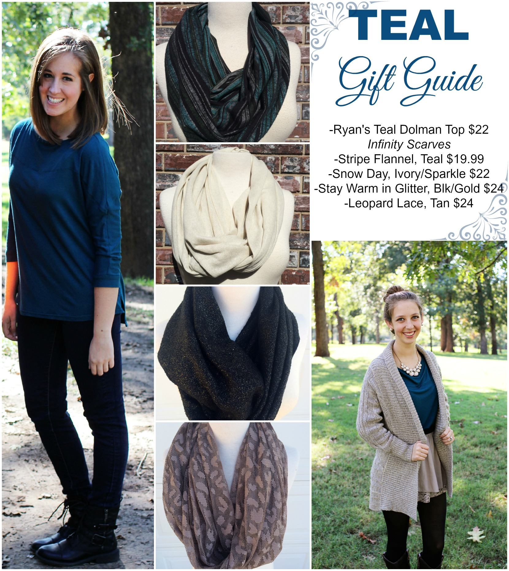 Teal Gift Guide