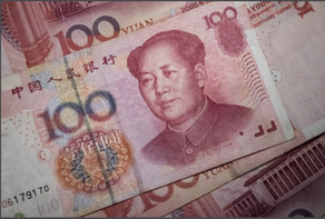 China sets the yuan midpoint at 6.9996 per dollar, slightly weaker than expected