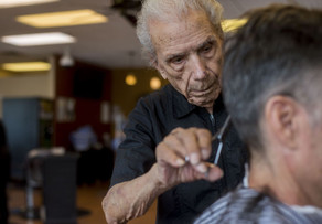 World's Oldest Working Barber, Dies at 108