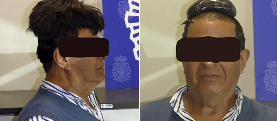 Man with $34,000 worth of cocaine under his wig; arrested at the Airport.