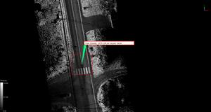 Point density of scanned area in LiDAR360 (by Rekon)