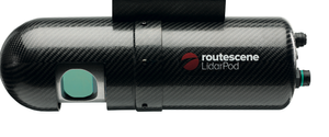 Routescene LidarPod for truck or drone mounted lidar