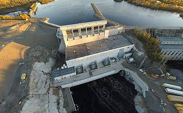 Construction Photo, Power House