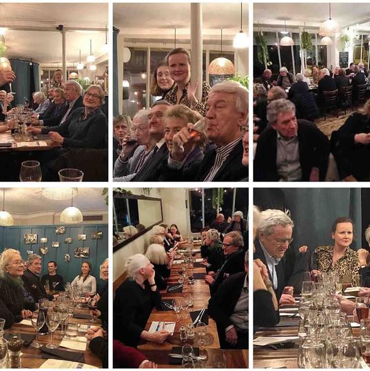 """Diner organisé par le Conseil d'Administration de la SARP FR au restaurant """"IL GALLO NERO"""" à Paris"""