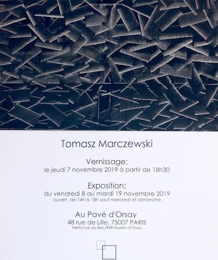 exposition Tomasz Marczewski