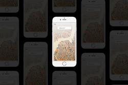 Uber Mockup Main Page
