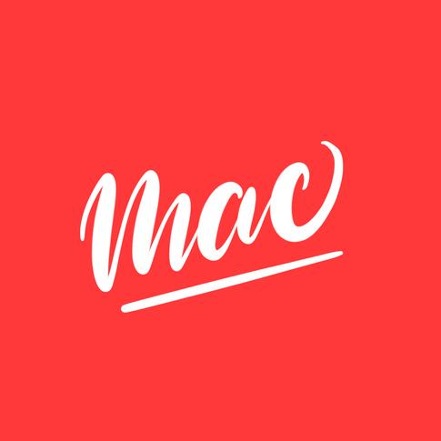Mac 2 hand lettering