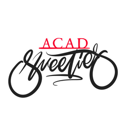 Acad Sweeties typography