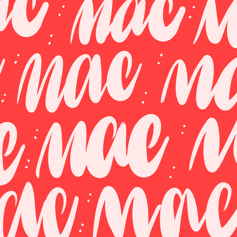 Mac miller hand lettering and typography