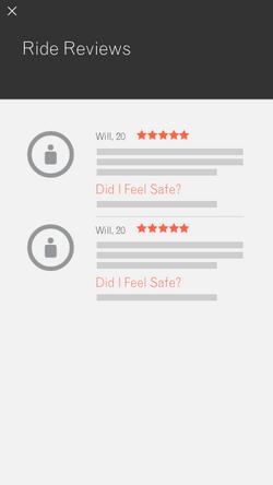 Ride Reviews - Book Ride