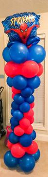Spider-Man Balloon Column