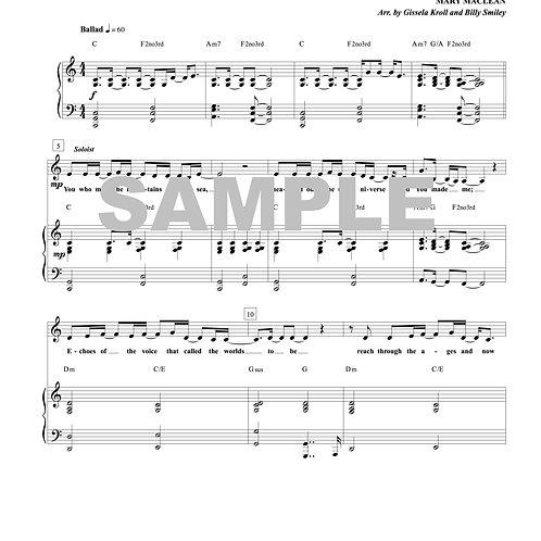 Creator King Sheet Music