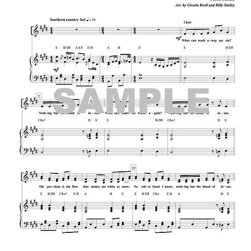 Southern Gospel Medley Sheet Music