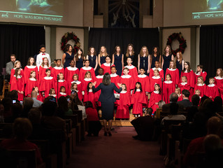 Christmas Performance at Madison Campus