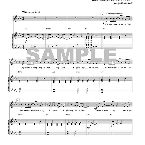 Give My All to You Sheet Music