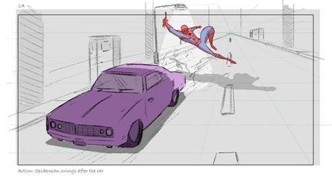 Spider-man Test Board