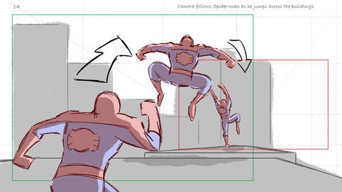 Spider-Man (Tracking Shot)
