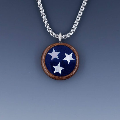 "TN Tri-Star Pendant 1"" B13 small"