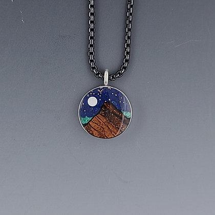 small moonlight mountain pendant 3221