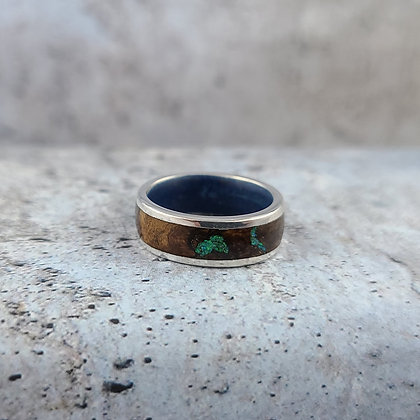 opal and laurel wood ring size 5