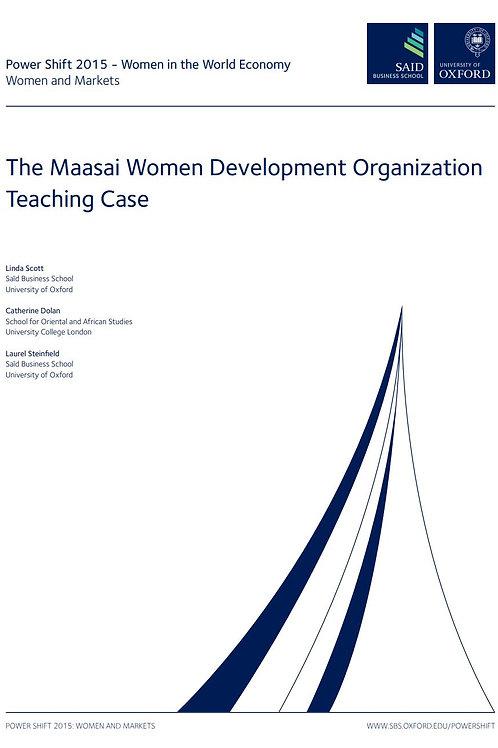 The Maasai Women Development Organization (MWEDO) Teaching Case