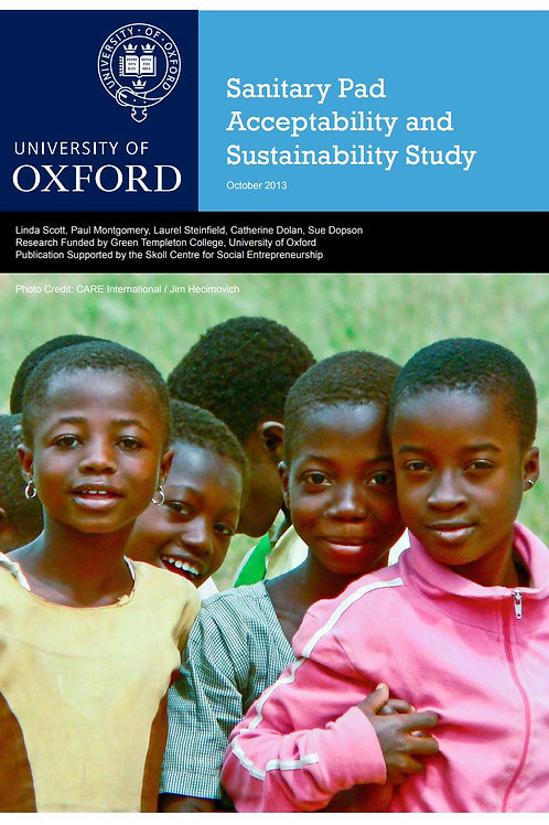 Sanitary Pad Acceptability and Sustainability Study