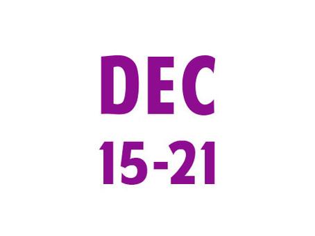 WEE News: December 15-21