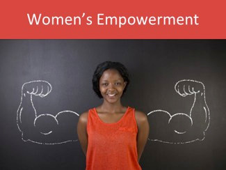 """Women's empowerment"" is what they call the global movement to help women in developing countries achieve economic autonomy.  Well, my point here is that Americans could use some of that ""women's empowerment."""
