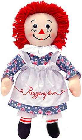 Nobody ever criticizes Raggedy Ann for telling little girls they must have red hair and floppy arms.