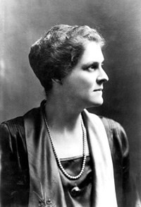 Anne Davis, who started the movement to establish a national park