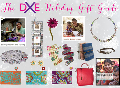 Give the Gift of Women's Empowerment – The DXE Holiday Gift Guide is Here!