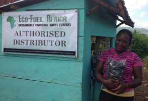 Eco Fuel Africa has created a supply chain fabricating and selling eco-briquettes. Photo: Eco Fuel Africa