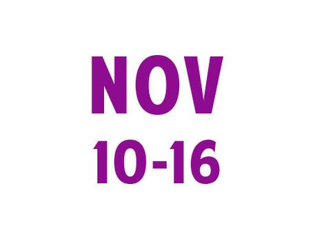 WEE News: November 10-16