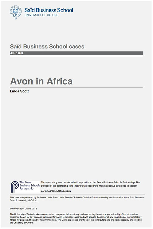 Avon in Africa Case Study