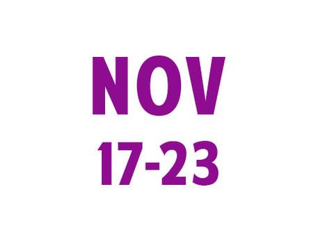 WEE News: November 17-23
