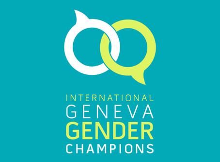 Geneva Gender Champions and breaking down gender barriers
