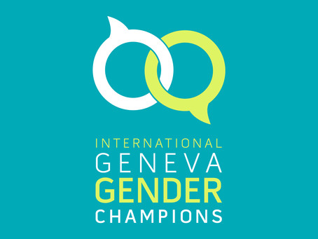 Geneva Gender Champions and breaking down gender barriers