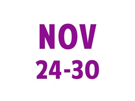 WEE News: November 24-30